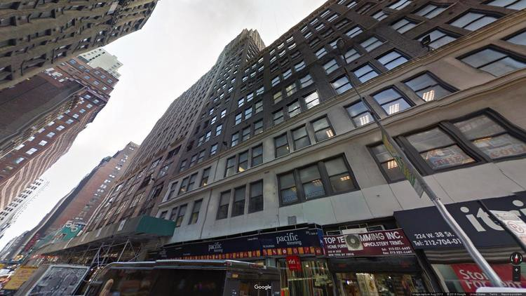 let office 214 west 38th street