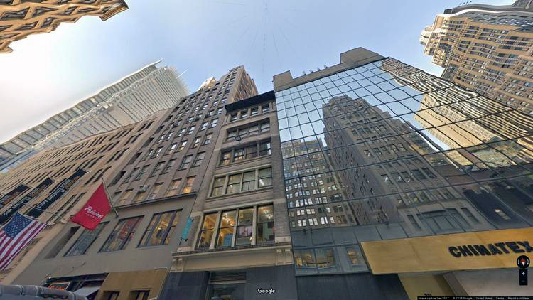 let office 215 west 40th street
