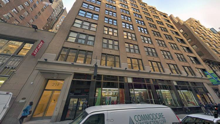 rent office 218-232 west 40th street