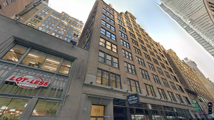 lease office 218-232 west 40th street