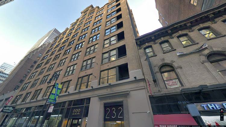 let office 218-232 west 40th street