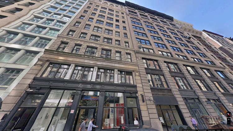 lease office 22 west 21st street