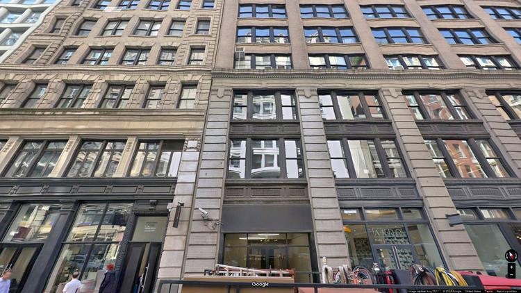 rent office 22 west 21st street