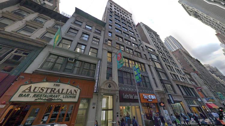 lease office 22 west 38th street