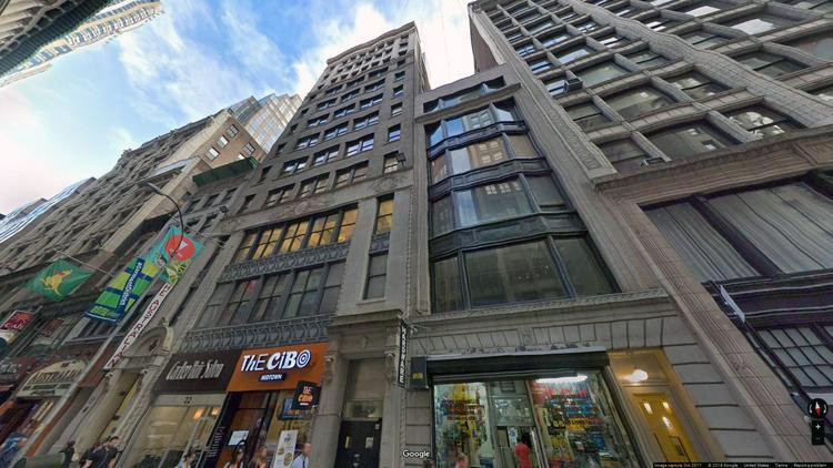 let office 22 west 38th street