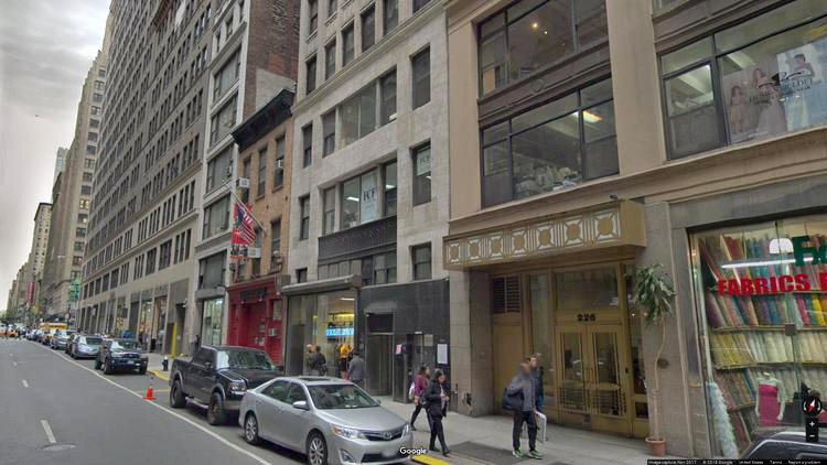 lease office 222 west 37th street