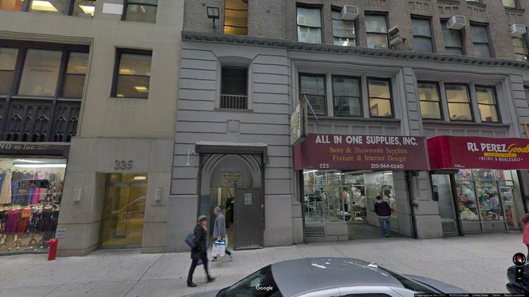 lease office 223-225 west 35th street