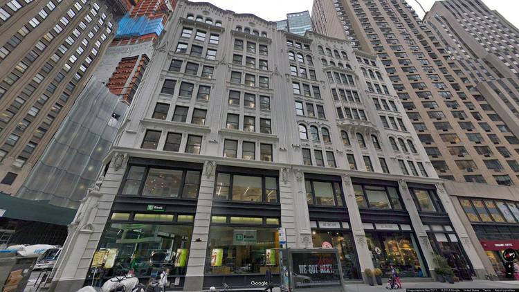 lease office 224 west 57th street