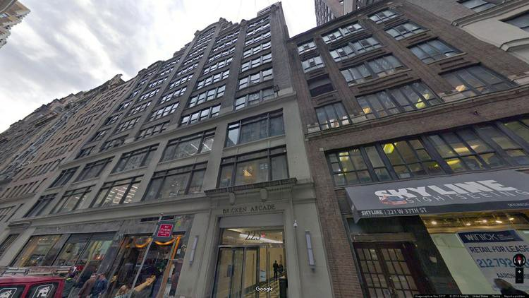 lease office 225 west 37th street