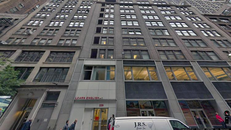 lease office 229 west 36th street