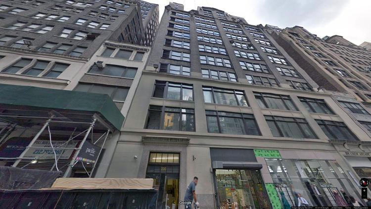 rent office 230 west 38th street
