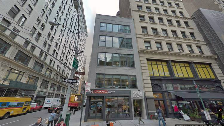 rent office 234 fifth avenue