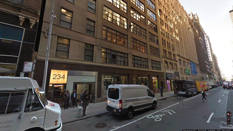 lease office 234 west 39th street