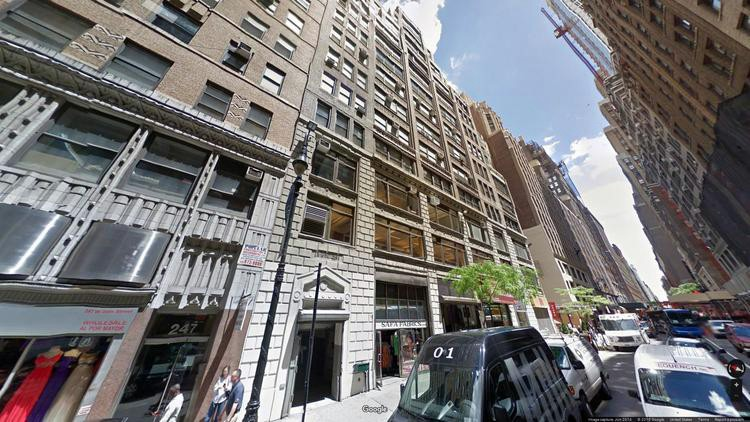 rent office 237 west 35th street
