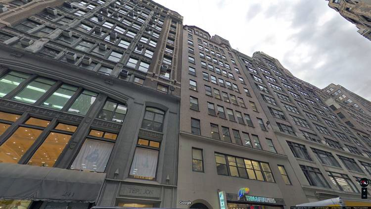 lease office 237 west 37th street