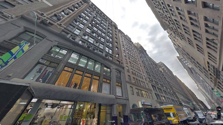 let office 237 west 37th street