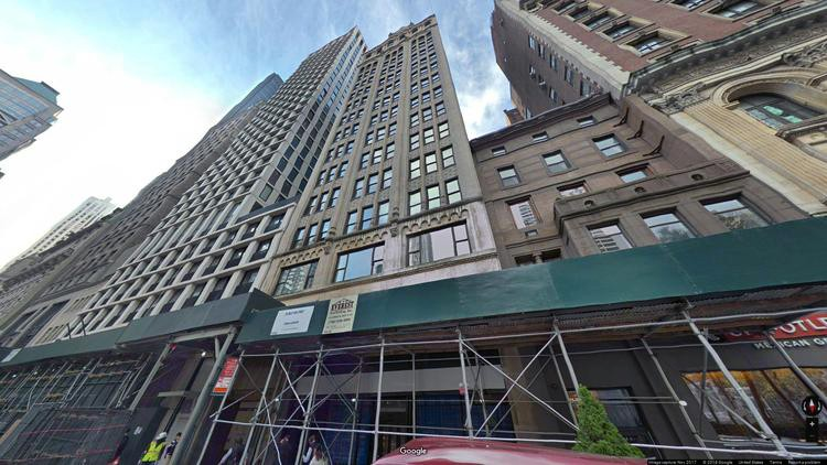 lease office 24 west 40th street