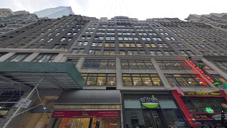 rent office 240 west 35th street