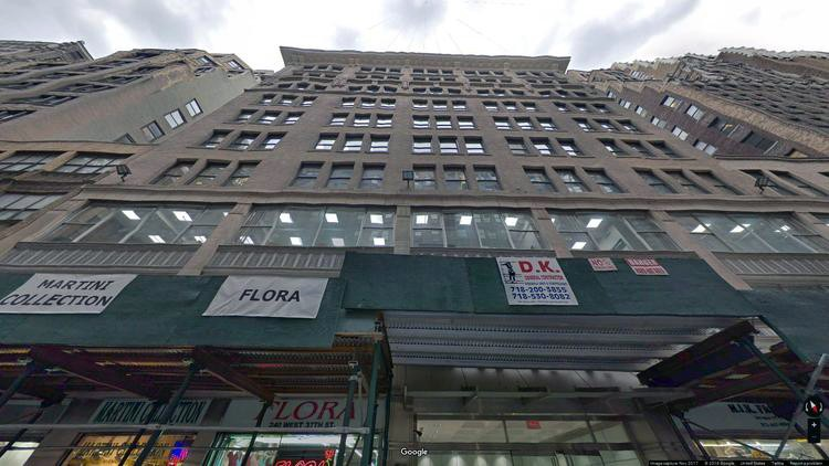 lease office 240 west 37th street