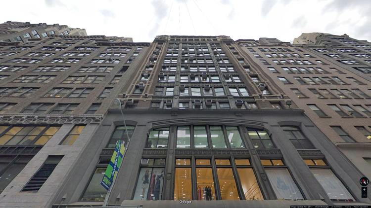 lease office 241 west 37th street