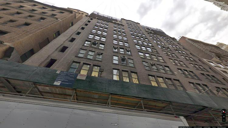 lease office 242-252 west 36th street