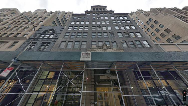 lease office 242 west 30th street