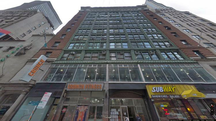 rent office 244-250 west 54th street