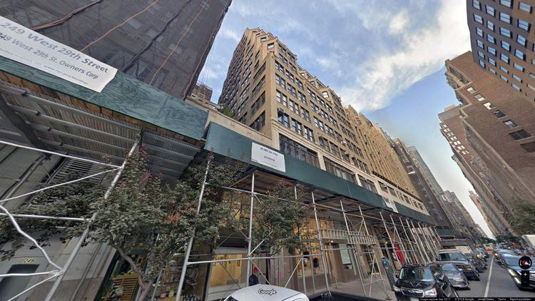 lease office 245-247 west 29th street