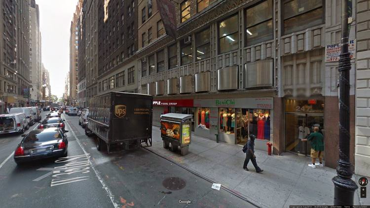 lease office 245 west 35th street