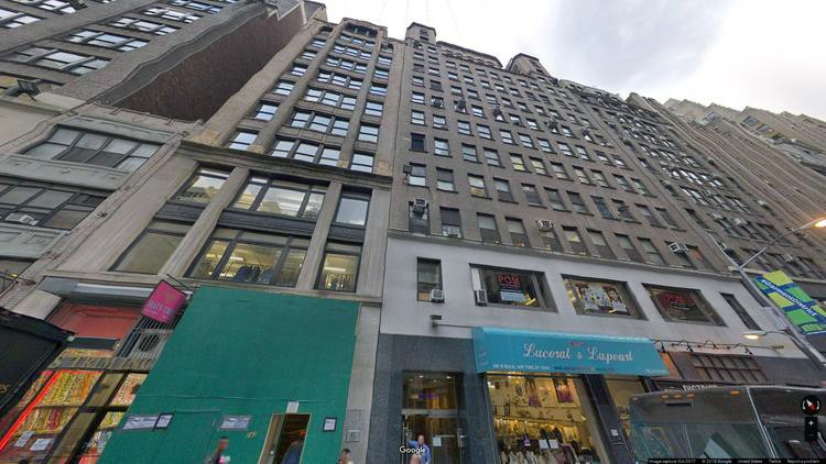 lease office 246 west 38th street