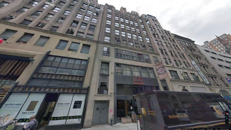 lease office 247 west 30th street