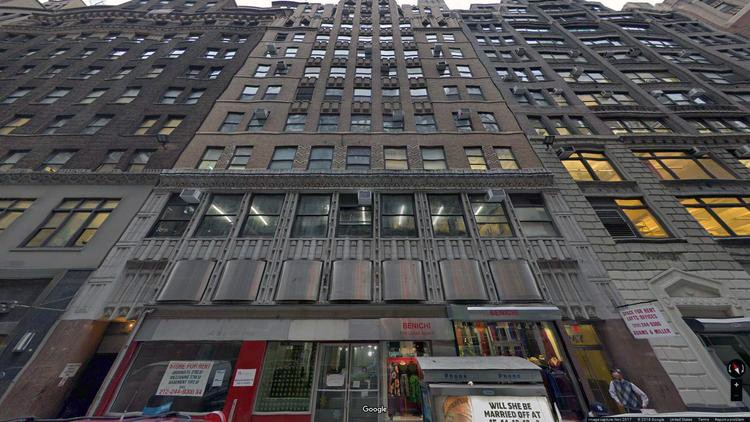 lease office 247 west 35th street