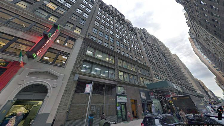 lease office 248 west 35th street