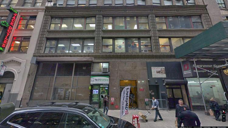 rent office 248 west 35th street