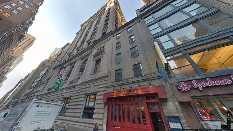 let office 25 west 39th street