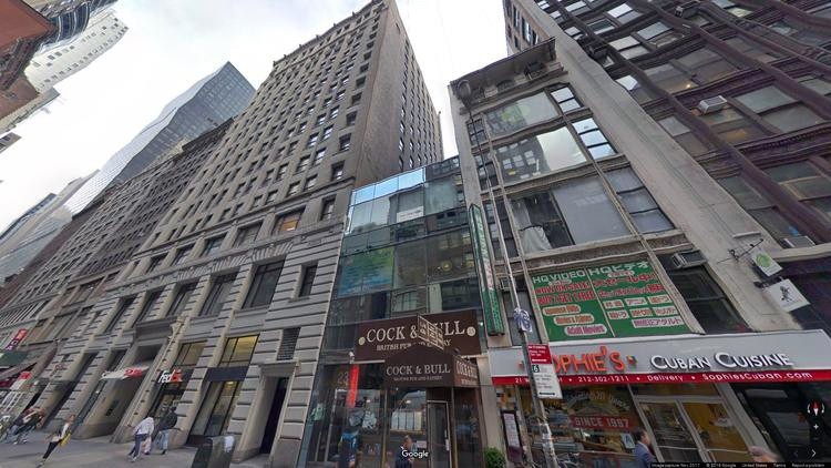 lease office 25 west 45th street