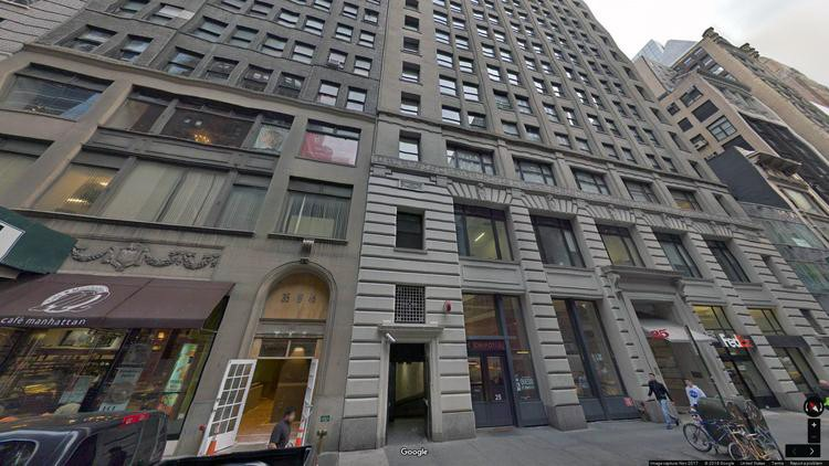 rent office 25 west 45th street
