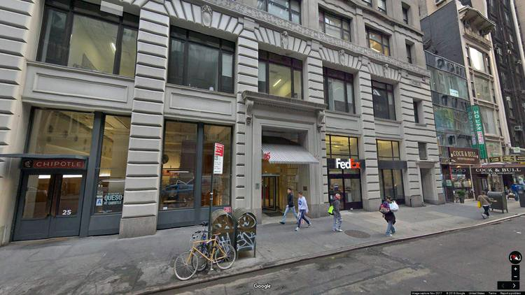 let office 25 west 45th street