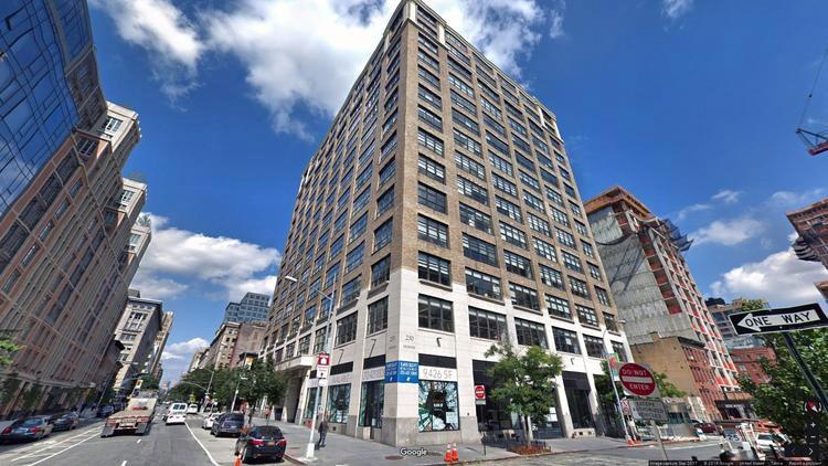 let office 250 hudson street