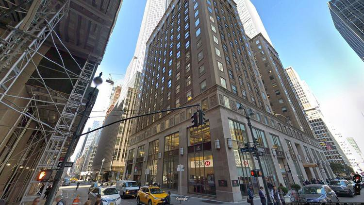 lease office 250 park avenue