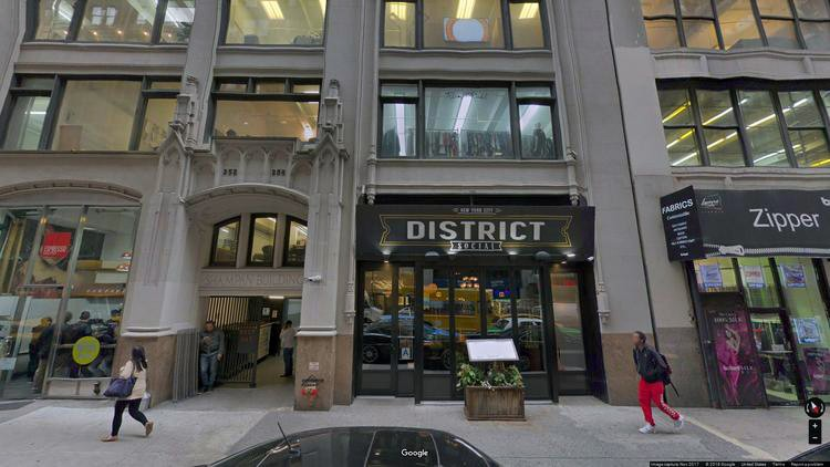 lease office 252-258 west 37th street