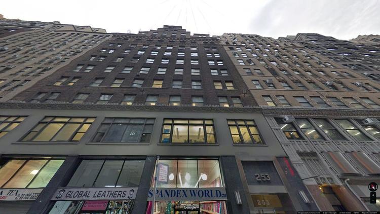 lease office 253 west 35th street