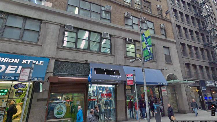rent office 255 west 36th street