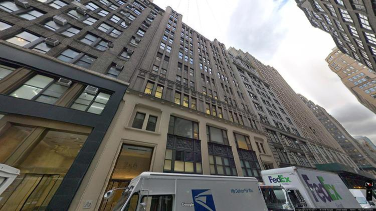 lease office 256 west 38th street