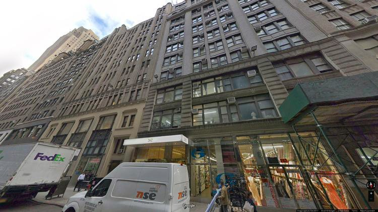 let office 256 west 38th street
