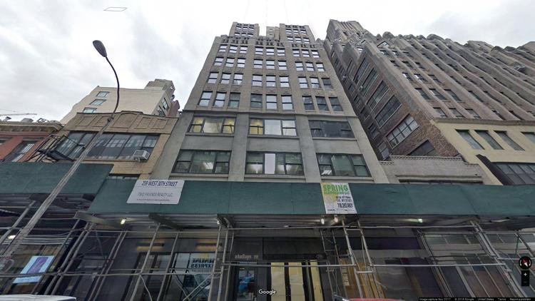 lease office 259 west 30th street