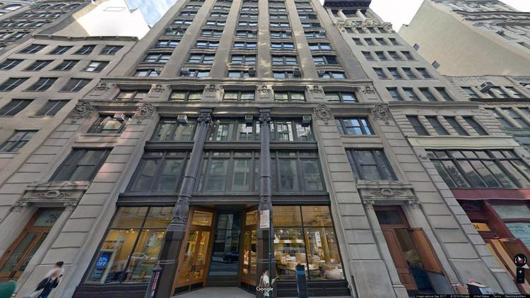 lease office 26 west 17th street