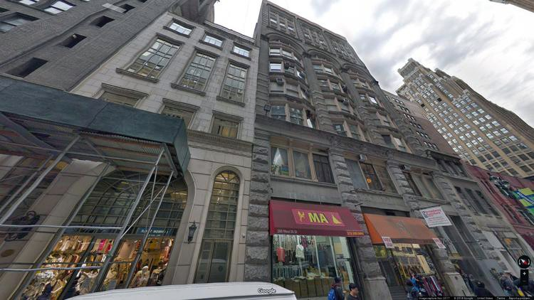 let office 260 west 36th street
