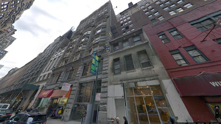 lease office 260 west 36th street