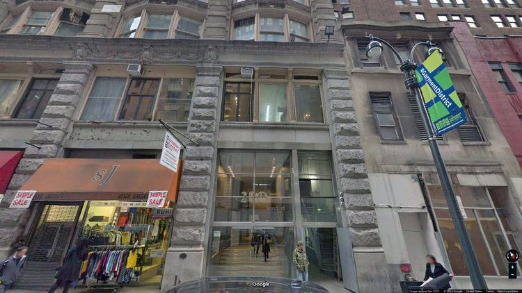 rent office 260 west 36th street